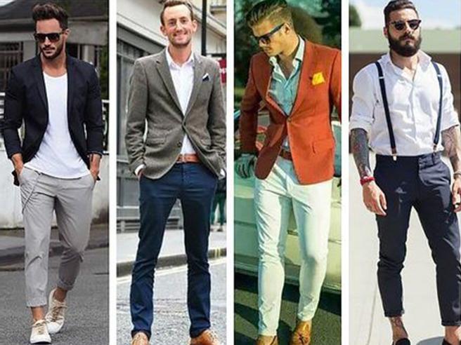 Pantaloni Chinos per lui, quali colori scegliere e come portarli