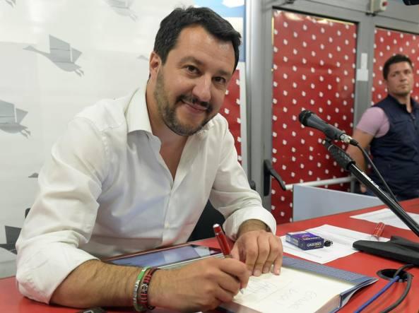Matteo Salvini (Imagoeconomica)