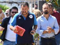 Salvini rilancia l'alleanza: «Vedrò Berlusconi e Meloni»