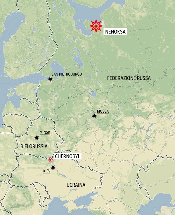 Esplosione nucleare in Russia, si teme una nuova Chernobyl
