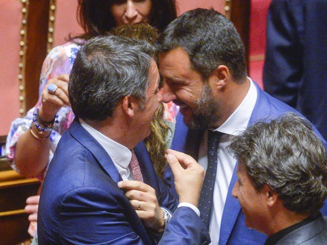 In Senato nasce la nuova alleanza Pd-M5S. E Salvini non ritira i ministri