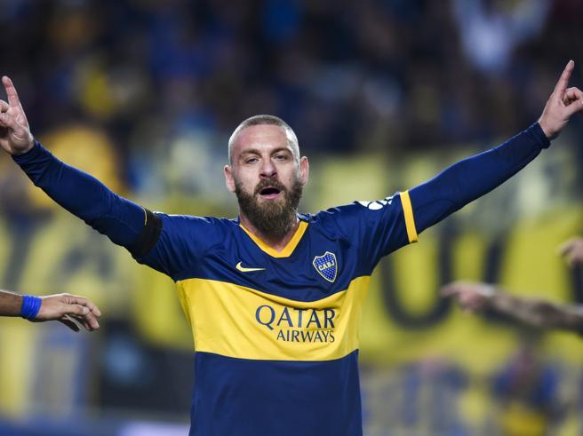 Argentina, esordio con gol (e sconfitta) per De Rossi al Boca Juniors