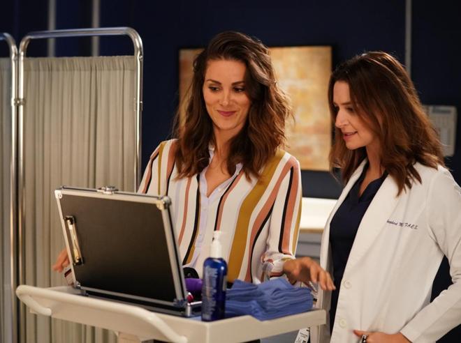 «Grey's Anatomy» e Damon:ecco le  conquiste di Stefania