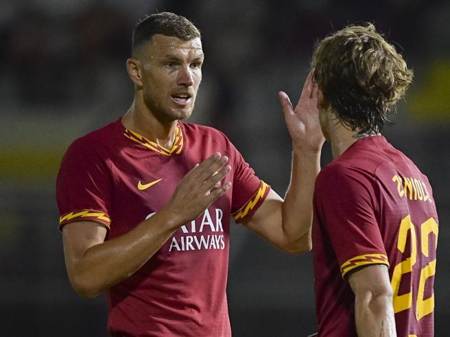 Roma-Arezzo 3-1: Dzeko uomo squadra, gol e sostanza dopo il rinnovo