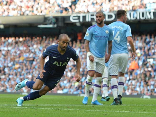 Manchester City-Tottenham 2-2, pareggio spettacolo: Liverpool e Arsenal a punteggio pieno