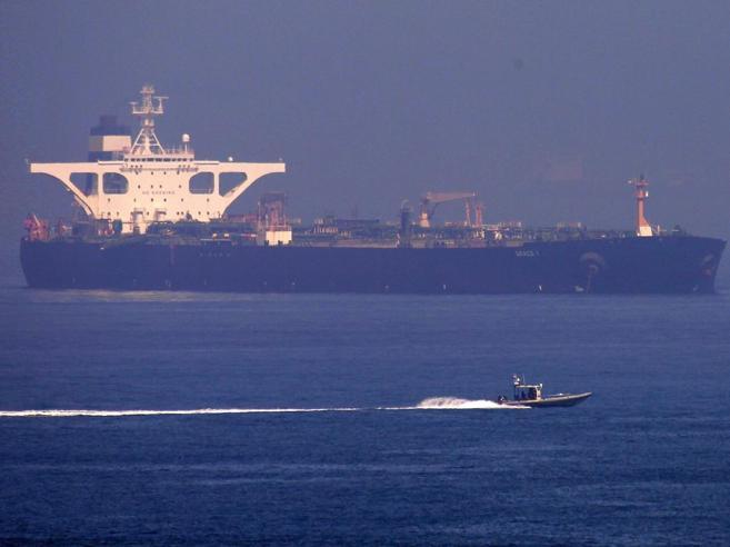 Gibilterra rilascia la petroliera Iran, gli Usa vogliono  il sequestro