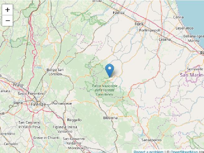 Scossa  di magnitudo  3.5 al largo delle Eolie. Nuovo sisma nella zona di Forlì-Cesena