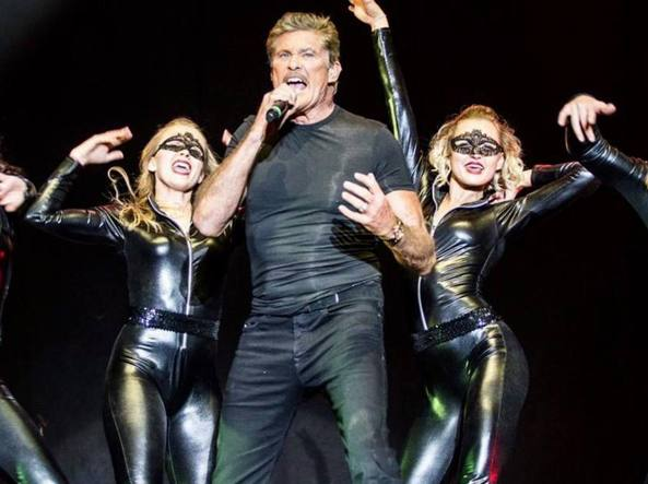 David Hasselhoff, da «Supercar» a «Baywatch» a un album metal