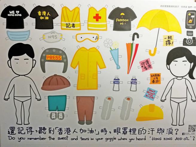 T-shirt nere e maschere color lillà Così i ribelli di Hong Kongsi vestono per la rivoluzione