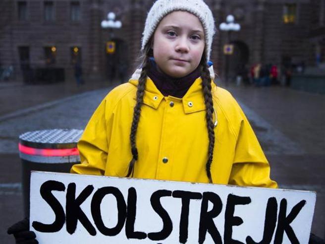 Greta Thunberg, un anno fa esatto il primo sciopero per il clima