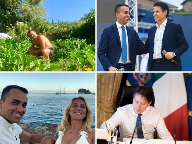 I post, i selfie (al mare o in mezzo ai campi): se la crisi di governo va in scena sui social