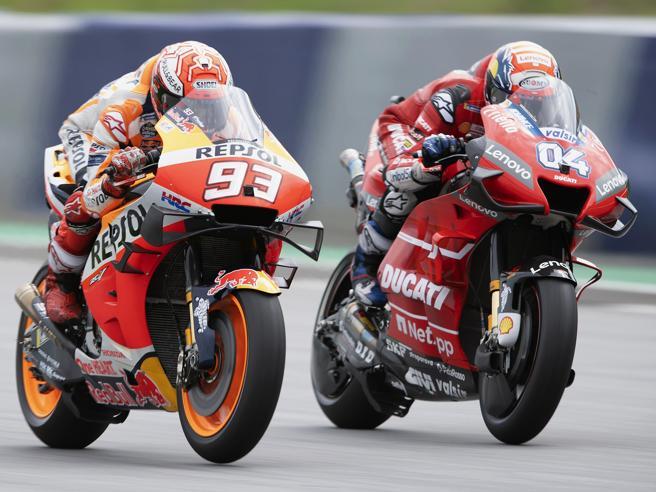 Marquez-Dovizioso, a Silverstone nuovo duello, ma solo il ducatista è obbligato a vincere