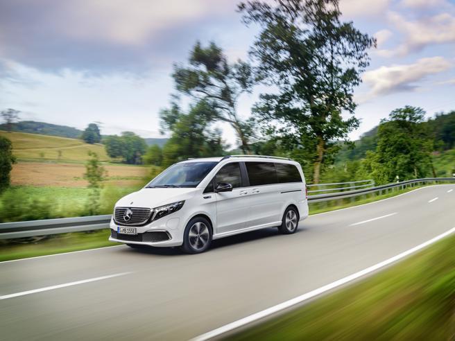 Mercedes, il van a «zero emissioni»con 400 chilometri di autonomia