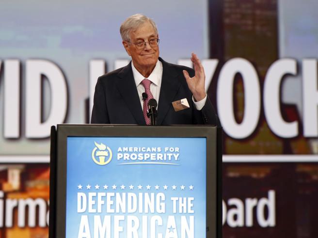 Morto David Koch, il miliardario conservatore anti-Trump Il ritratto