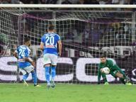 Fiorentina-Napoli 3-4, fiori d'artificio e tanto Insigne al Franchi