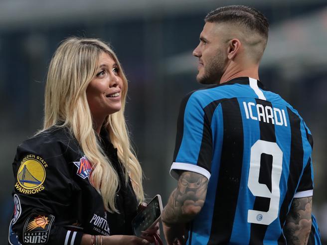 Lo sfogo di Wanda: «Icardi non mi ha tradito e vuole restare all'Inter»