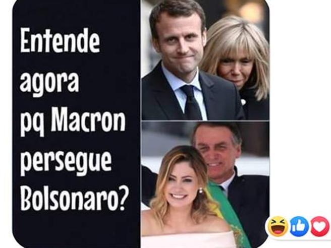 Bolsonaro deride Brigitte Macron: incidente sessista con la  Francia