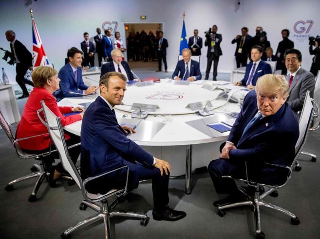 Il blitz di Macron spiazza Trump:l'inviato iraniano atterra al G7