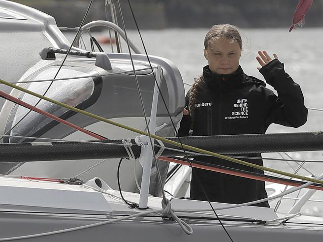 Greta Thunberg in arrivo a New York: «Terra!»