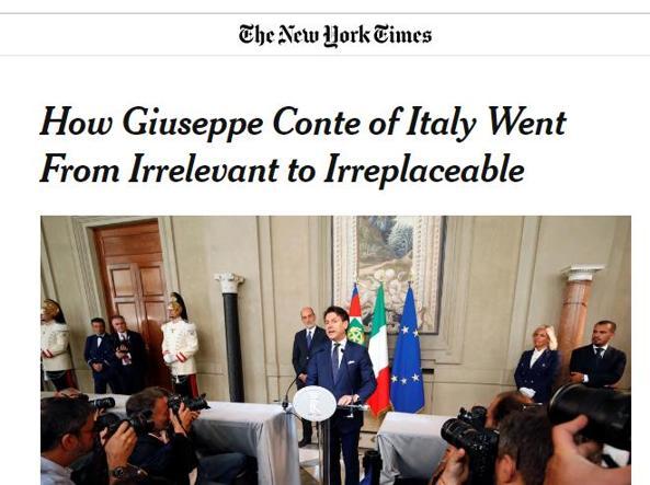 L'editoriale pubblicato sul New York times