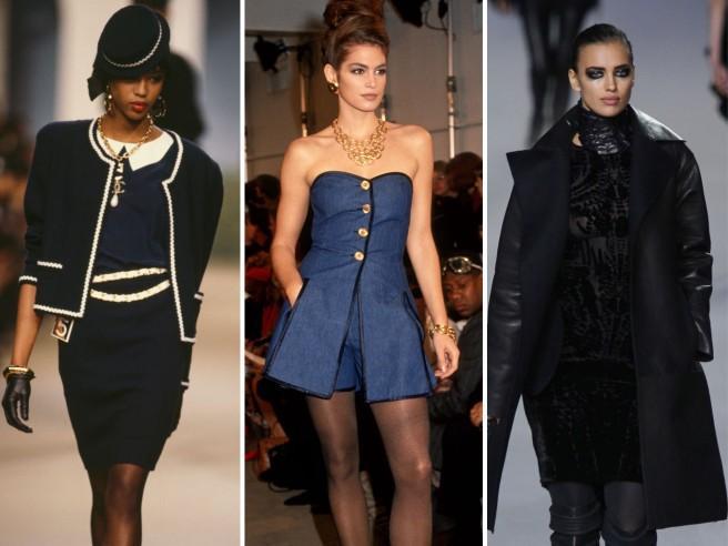 Naomi, Cindy e Irina: il debutto delle modelle famose a una sfilata della Fashion Week
