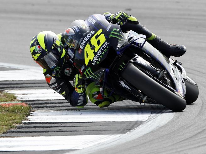MotoGp a Misano, Valentino Rossi«Che sogno guidare la M1 in strada, e adesso voglio salire sul podio»