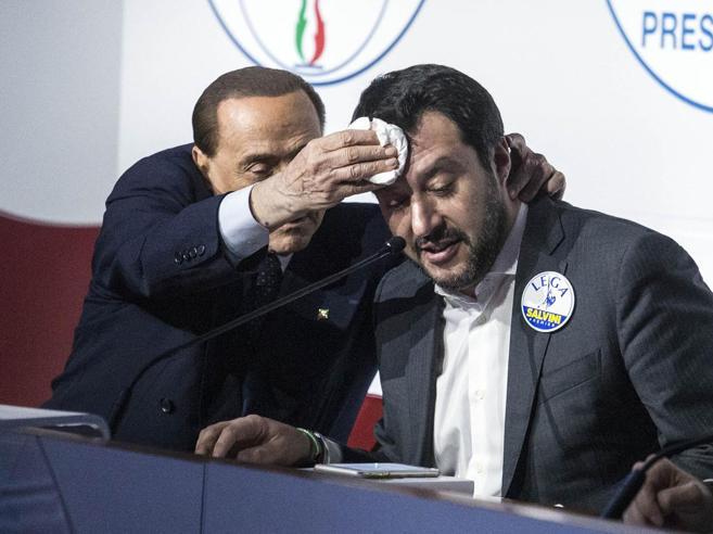 Salvini e Berlusconi provano a ripartire: opposizione insieme