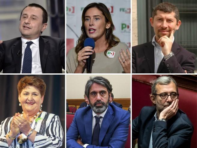 Pronti i nuovi gruppi renziani: 18 deputati e 6 senatori. Il piano scissione agita il Pd Enrico Letta: «Non ha senso»