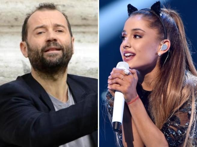 Fabio Volo attacca Ariana Grande: «Il suo video? Un richiamo sessuale»