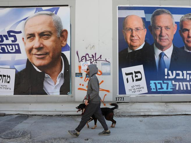 Exit poll Israele,   Netanyahu  in difficoltà: il Paese risc