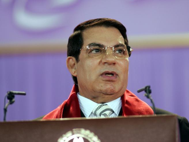 Morto l'ex presidente tunisino deposto,  Ben Ali. Era ricoverato  in una clinica a Jedda