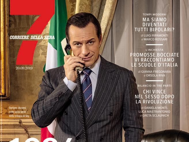 Accorsi torna con 1994:  «Ho sognato  che Berlusconi era mio padre» Domani su 7