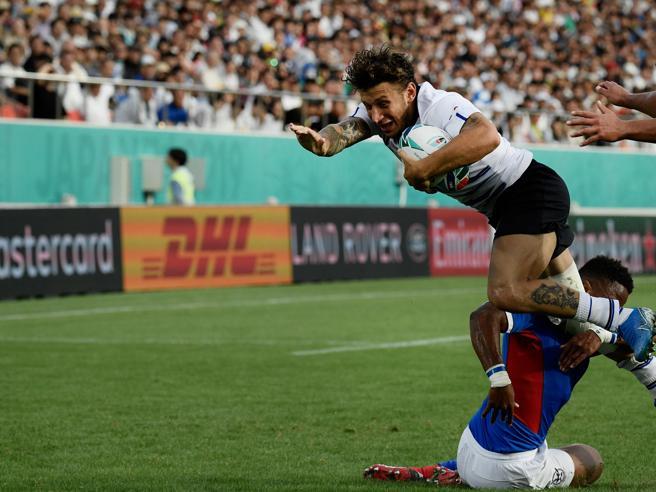 Italia-Namibia 47-22, gli azzurri iniziano con una vittoria la Coppa del Mondo
