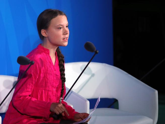 Greta  ai leader Onu: «Mi avete rubato   i sogni e l'infanzi