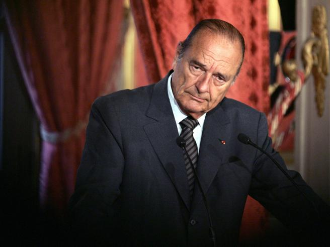 È morto l'ex presidente francese Jacques Chirac