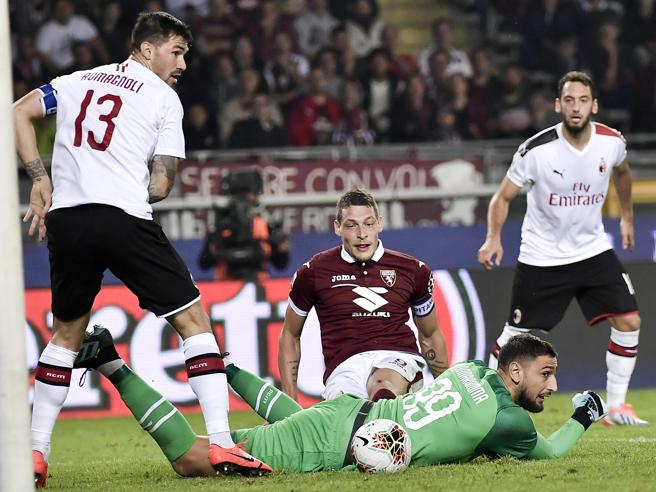 Torino-Milan 2-1, pagelle: Belotti incontenibile, Donnarumma sbaglia