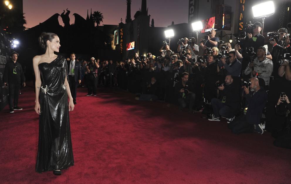 Angelina Jolie Con I Figli Alla Premiere Di Maleficent 2 A