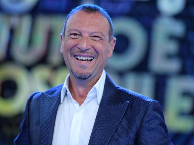 Amadeus: «I Big in gara a Sanremo li scelgo solo io»