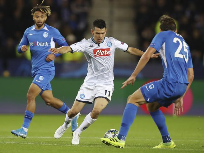 Genk-Napoli 0-0, occasioni sprecate ed errori per la squadra di Ancelotti