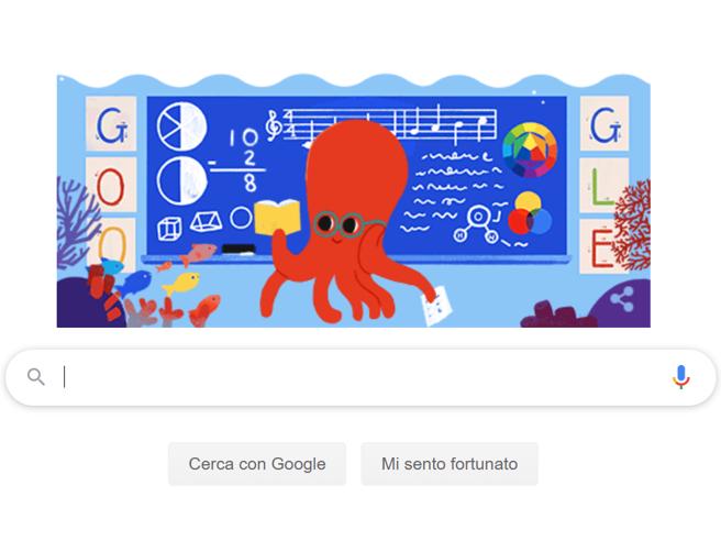 Giornata mondiale degli insegnanti, Google la celebra con un doodle. Tema del 2019: il futuro del mestiere