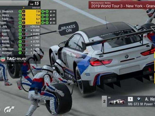 Alla consolle come Leclerc in F1Si può scegliere la gomma giusta