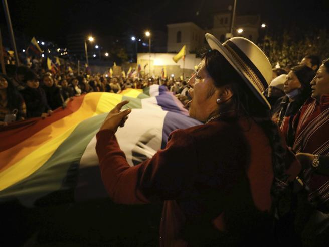 Proteste in Ecuador, 700 arresti La collera degli indigeni