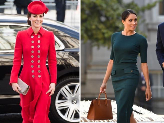 Kate Middleton e Meghan Markle, due stili a confronto. Ogni loro scelta di look fa subito tendenza. Ed evidenzia le loro differenze