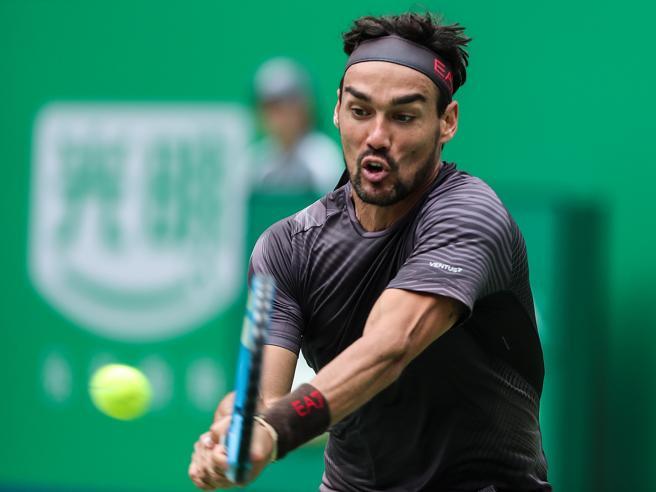 Atp Shangai: Fognini battuto da Medvedev nei quarti 6-3, 7-6
