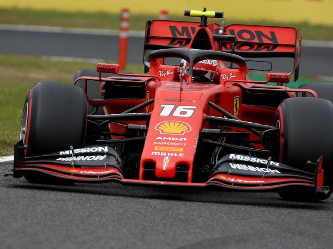 Gp Giappone, nelle libere dominano le Mercedes, solo quarto e quinto tempo per Leclerc e Vettel