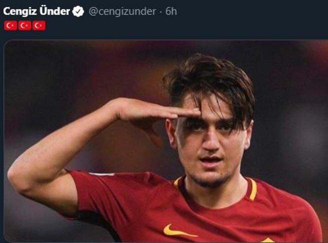 Anche il romanista Under appoggia l'invasione della Turchia contro i curdi: l'ira dei tifosi per il tweet