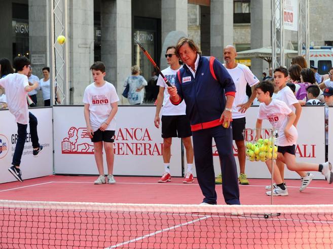 La sfida di Panatta:«Compro un circoloInsegnerò a giocareil tennis di una volta»