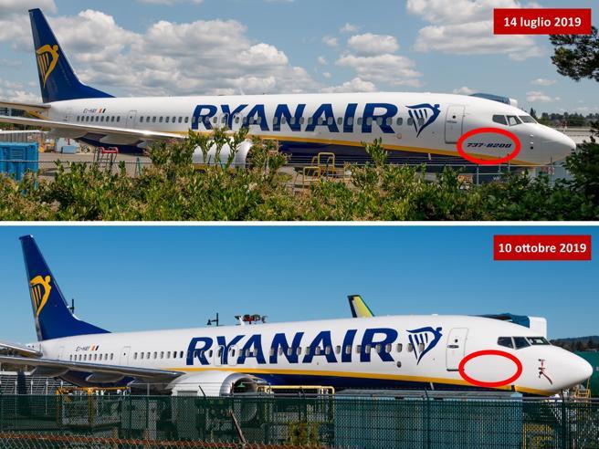 Boeing 737 Max, Ryanair  cancella il nome dagli aerei