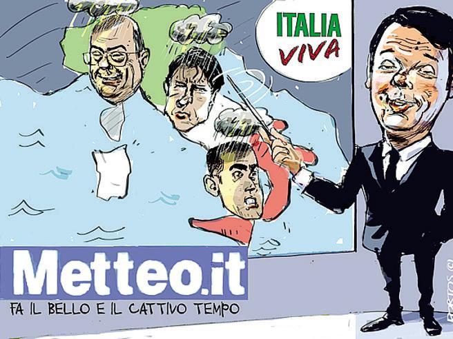 La satira del Corriere La settimana raccontata con le vignette-Le immagini