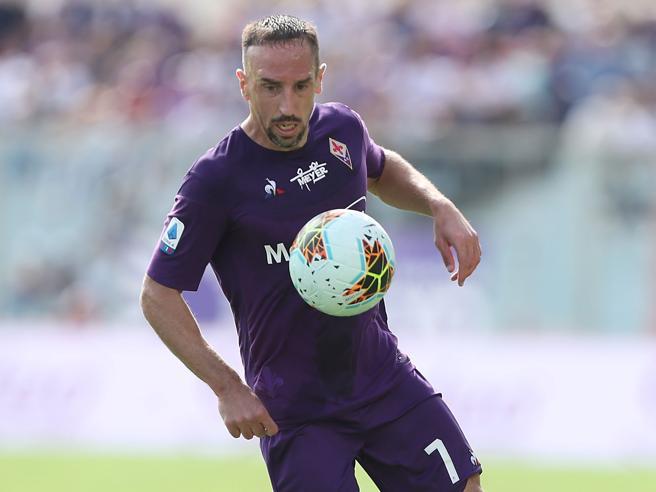 Fiorentina, Ribery: «Dopo il k.o. con il Genoa mi sono allenato fino alle 4»